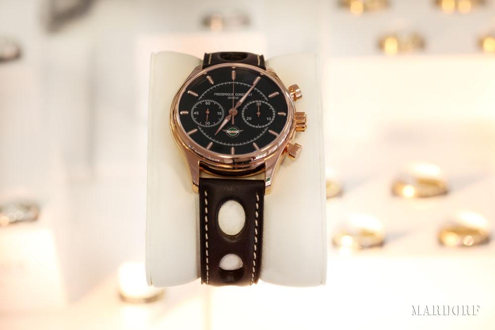Frederique Constant Armbanduhr Braun vom Juwelier Tobias Mardorf in Villingen Schwenningen