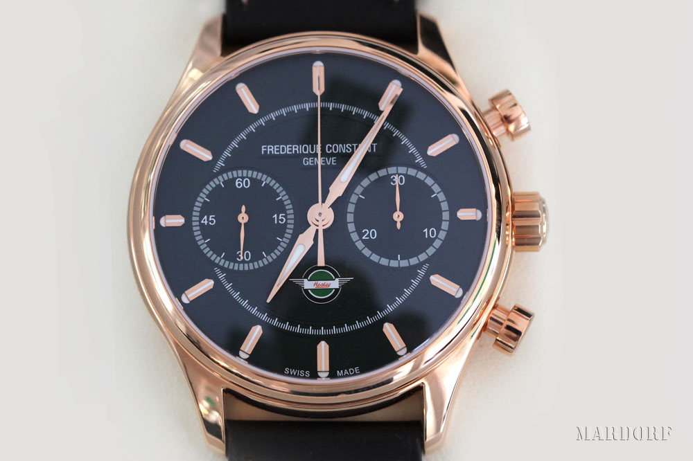 Frederique Constant Armbanduhr vom Juwelier Tobias Mardorf in Villingen Schwenningen